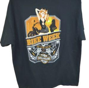 Mens Harley Davidson Tshirt Thee Dollhouse